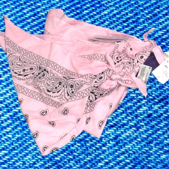 Three Pink Bandanas 100% Cotton NWT